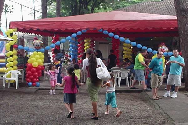 Dia das Crianças carrinho gourmet