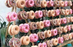 Parede de Donuts