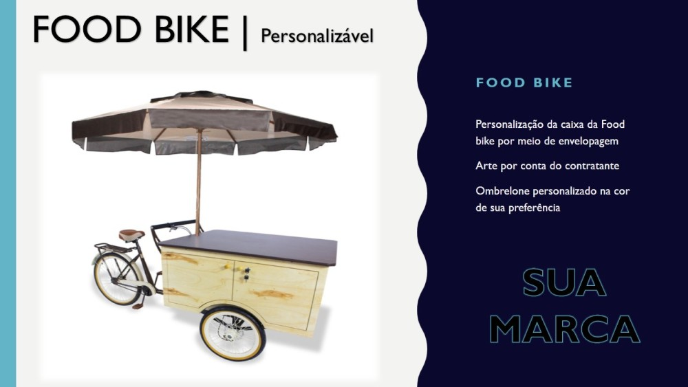 FOOD BIKE_ Candy Carts Gourmet