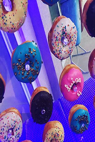 donuts para FESTA INFANTIL