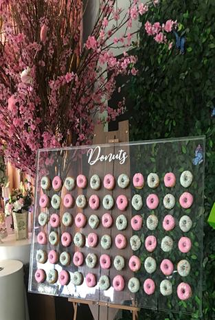 donuts para festas